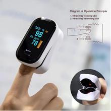 Portable Medical Finger blood oxygen Heart de Oximeter Pulse dedo Meter Rate Saturation Monitor Home Hospital Medical Devices