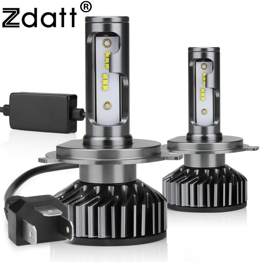 Zdatt H7 LED Lamp H4 Ice Lamps For Cars LED Headlights H1 H8 H9 H11 HB3 9005 9006 HB4 12000LM 100W LED 6000K 12V 24V Auto Lamp