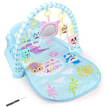 Baby Play Music Mat Carpet Toys Kid Crawling Play Mat Game Develop Mat With Piano Keyboard Infant Rug Early Education Rack Toy