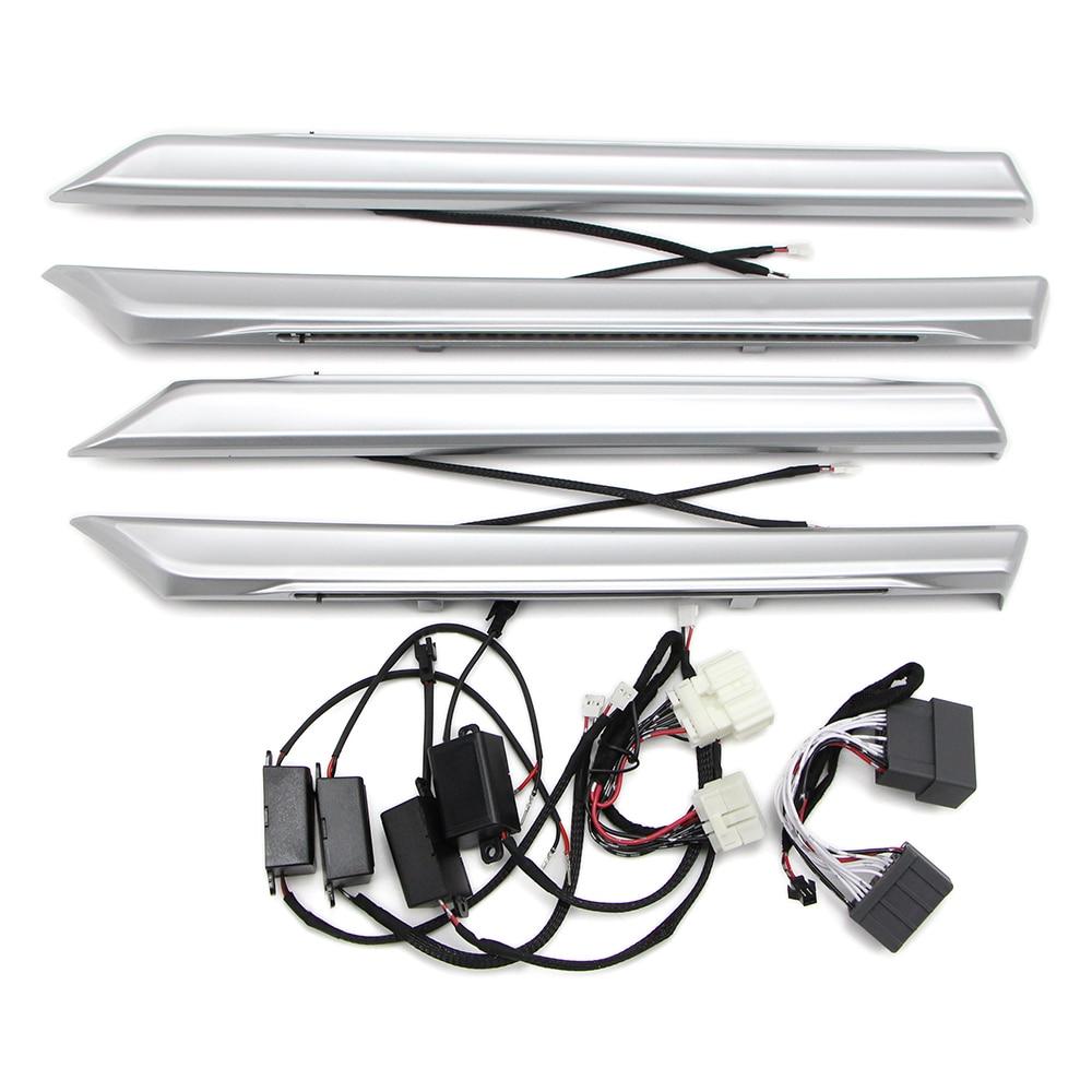 LED Atmosphere Light For Honda Civic 2016 2017 2018 2019 Ambient Lamp Chrome Tirm / Carbon Fiber Style