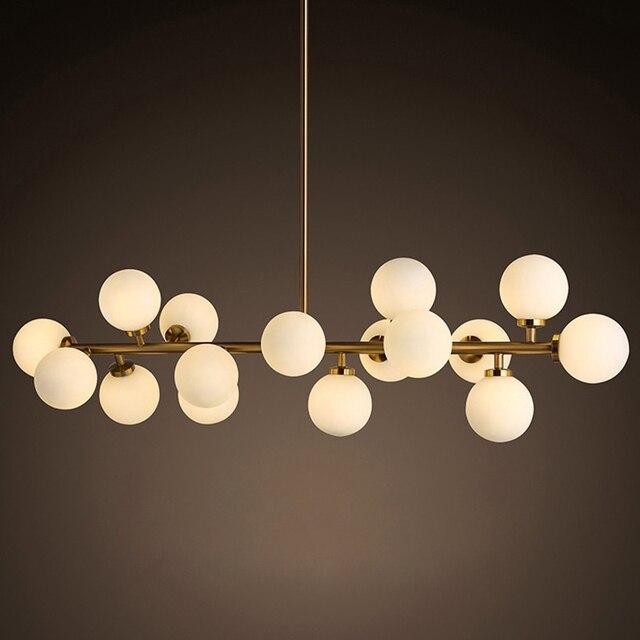 Mordern Led תליון אורות מטבח אוכל חדר נורדי תעשייתי תליון מנורת בר קפה Luminaire תליית גופי תאורה