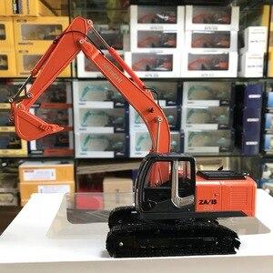 1/43 масштаб Hitachi ZH200 Литой Сплав экскаватор модель металлические гусеницы автомобиль игрушки грузовики для мальчиков детские подарки