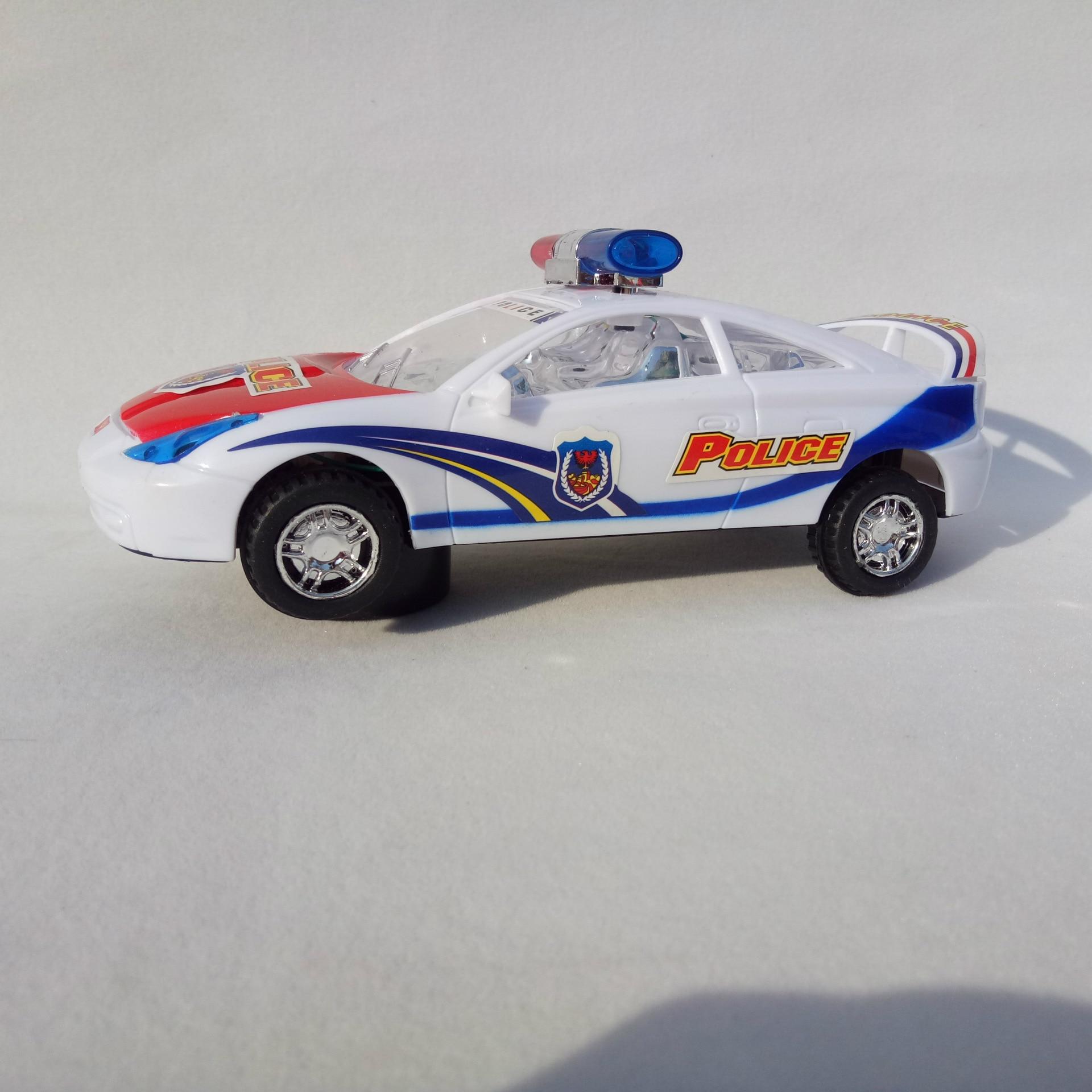 512 Electric Shining Music Police Car Yue Xin Multidirectional Electric Toy Car Flash Songs Nine Yuan