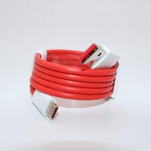 Image 5 - Originele Oneplus Dash autolader 5V4A Voor Een plus 6T 5/5 T/3/3 T dash Lading Adapter 1 M/1.5 M/2 M rode Ronde Dash USB Type C Kabel