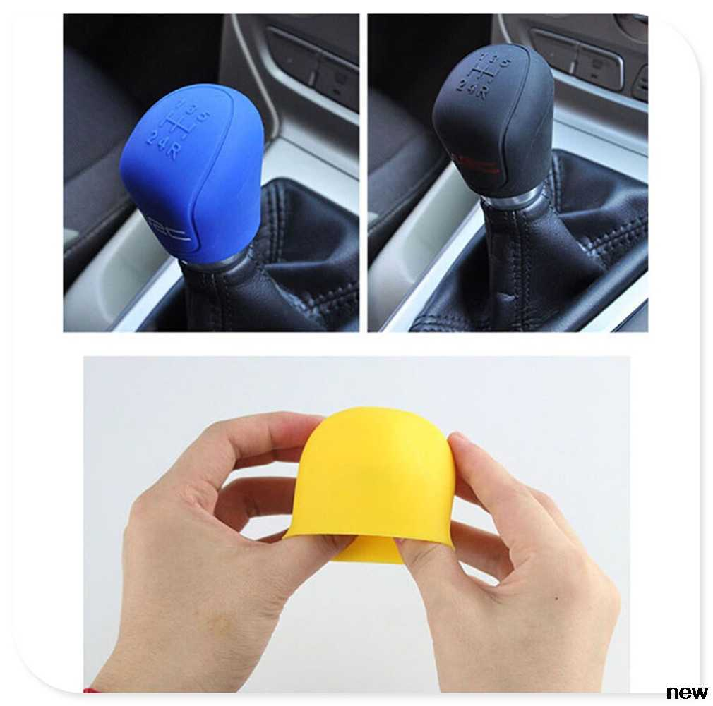 Longzhimei Car Gear Shift Knob Cover for FORD Focus 09-17 Ecosport ...