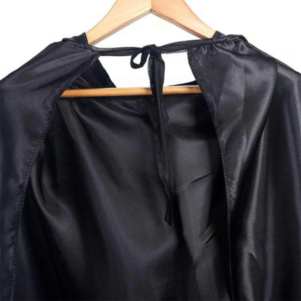ฮาโลวีนสีดำคอสเพลย์ PROP Death Hoody Cloak DEVIL Long Tippet เคป DROP จัดส่งใหม่