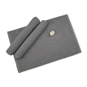 Image 5 - Comfortable Plaid Bath Mat Luxury Hotel Home Towel Cotton Thick Slip resistant Doormat Absorbent Mats 50*77cm