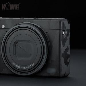 Image 5 - キウイアンチスクラッチカメラボディ皮膚保護フィルムキットリコー GR III GRIII GR3 GR マーク III カメラ 3 メートルステッカー黒