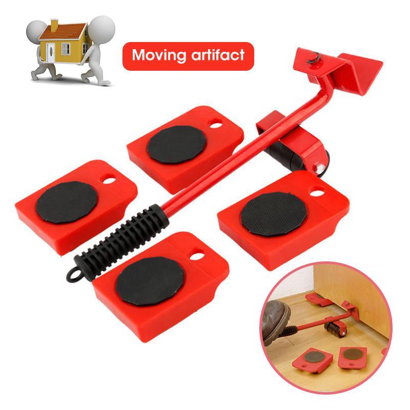 Large Furniture Mobile Artifact Multi-Function Labor-Saving Moving Tool Set 360 Degree Swivel Wheels 200kg Weight Capacity
