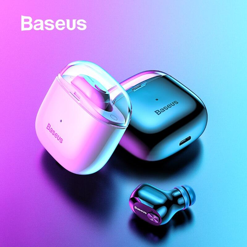 Baseus A03 Bluetooth Earphone Wireless Headphones Sport TWS Bluetooth 5.0 Headset With Mic For IPhone Xiaomi Huawei Earbuds