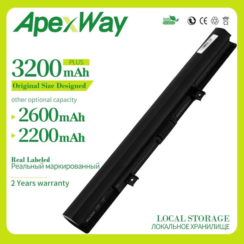 Apexway PA5185U PA5185U-1BRS PA5184U-1BRS Laptop Battery For TOSHIBA Satellite C50 C50-A C50-B C55D C55T L50-B C55-B5200