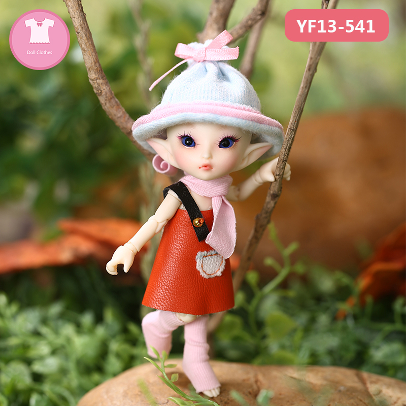 BJD Doll Clothes 1/13 Cute Suit Doll Clothes For Realpuki Soso Body Doll Accessories Fairyland  Luodoll