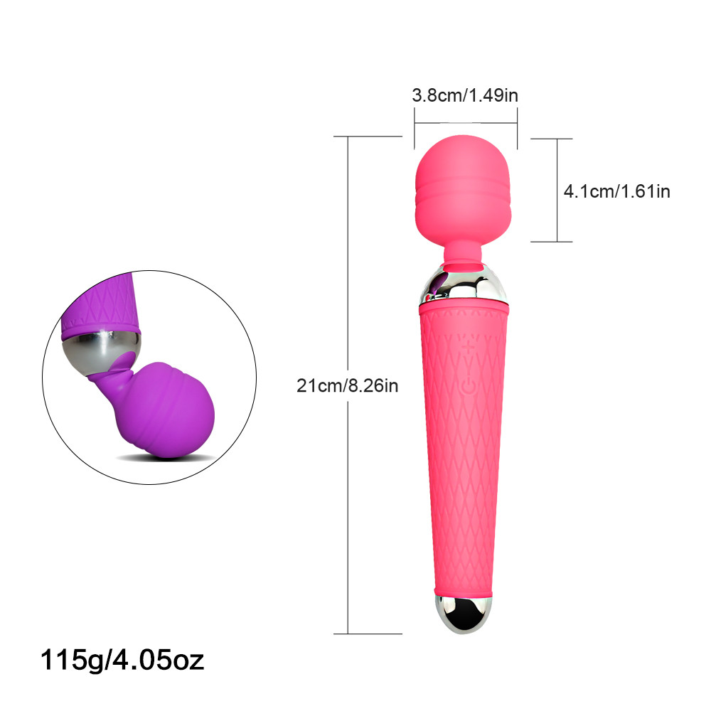 Powerful Magic AV Vibrator Wand, G Spot Vagina Vibrators for Women, Sex Toys AV Rod Head Cap Accessories Toys for Adults  (6)