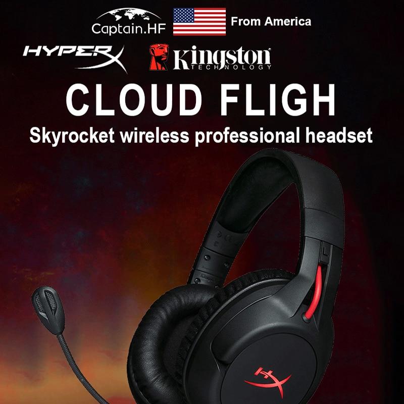 Нам капитан новый Pro технология Hyper X облако беспроводной рейсы профессиональная игровая гарнитура, наушники для ПК и ноутбуков, долгое время воспроизведения