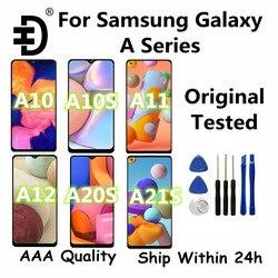 ЖК-дисплей для Samsung Galaxy A11 A12 A21 A21s, дисплей с сенсорным экраном и дигитайзером для Samsung A10, A10s, A20s, A10e, ЖК-экран, оригинал протестирован