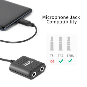 Image 3 - COMICA SPX TC רב תפקודי TRS TRRS 3.5mm מיקרופון כדי USB סוג C אודיו כבל מתאם עבור Huawei סמסונג HTC טלפונים חכמים