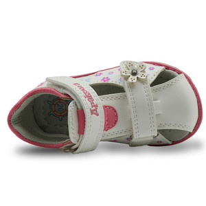 Image 4 - PU Leather Girls Shoes kids Summer Baby Girls Sandals Shoes Skidproof Toddlers Infant Children Kids Shoes Arch Support