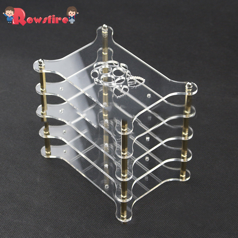 Acrylic Multilayer Cluster Servers Shell For Raspberry Pi 3B+/3B/2B - 5 Layers