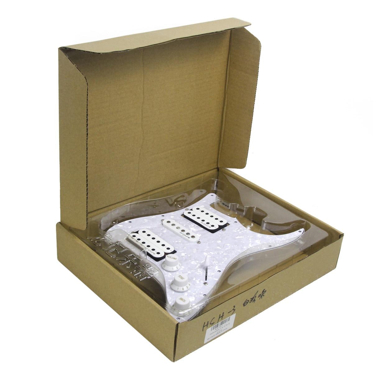 Akustische 1 Set Prewired 52mm Bridge Pickup Weiße Perle Für Elektrische