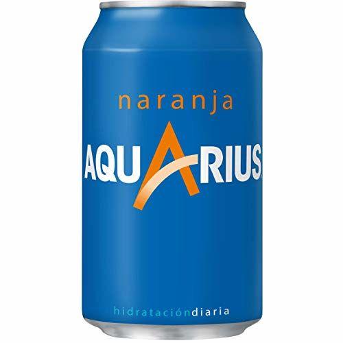 Aquarius - Bibita Rinfrescante Di Arancia, 330 Ml - [pacco Di 6]