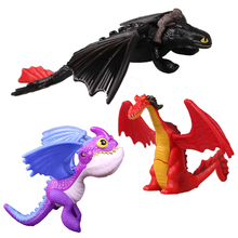 New Dragon Toothless Action figure Black Fury Toys For Childrens Birthday Gifts B804