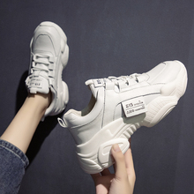 Running Shoes for Woman Dad Designer Sneakers Platform Flats Chunky Reflective Casual Footwear