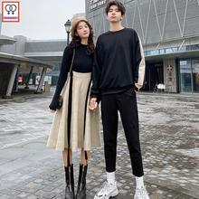 Matching Couple Clothes Lovers Valentine's Days Female Male Cute Honeymoon Dat Casual Vintage Loose Sweet Hoodies Dress