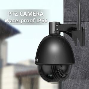 Image 5 - 1080P מלא HD PTZ מהירות כיפת IP מצלמה 5x זום חיצוני עמיד למים CCTV WiFi מצלמה מיני זיהוי תנועת ONVIF h.264