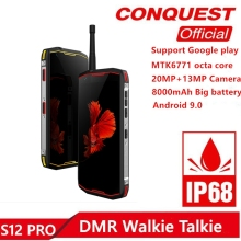 Conquest S12Pro IP68 Waterproof Rugged Smartphone 6GB+128GB 5.99