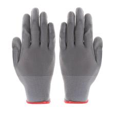 PU Gloves Worker Driver Builders Gardening Protective Safety Grey Mittens Household Anti Dust Hand Cover for Garden Tool Supply