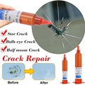 5 мл УФ клей оптический прозрачный клей окна ремонтный набор инструментов для ремонта длинные трещины Стекло сломанной трещины Qucikly восстан...
