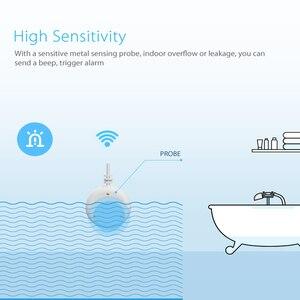 Image 2 - WIFI Wasser Leckage Alarm Detektor Wasser Sensor Home Security Smart Home mit Alexa Echo Google Hause