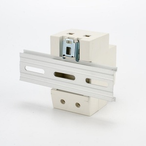 Image 5 - 250V 16A ยุโรปเยอรมันเยอรมันมาตรฐาน RAIL MOUNT OUTLET 2P + E Modular Power Modular AC CONNECTOR AC30 EU FC ซ็อกเก็ต