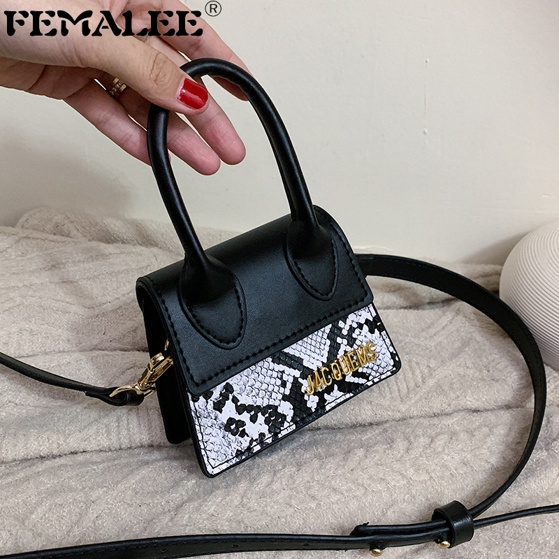 Serpentine Mini Women Handbag Famous Brand Luxury Handbags For Women Crossbody Bags Female 2019 Messenger Bags Small Tote Bag