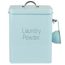NHBR-Beautiful Powder Coating Metal Zinc Laundry Powder Boxes