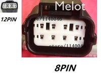 3PCS FOR Modern headlight plugs/wiring harness connector/connectors / 8p 12P with dhl ship cost