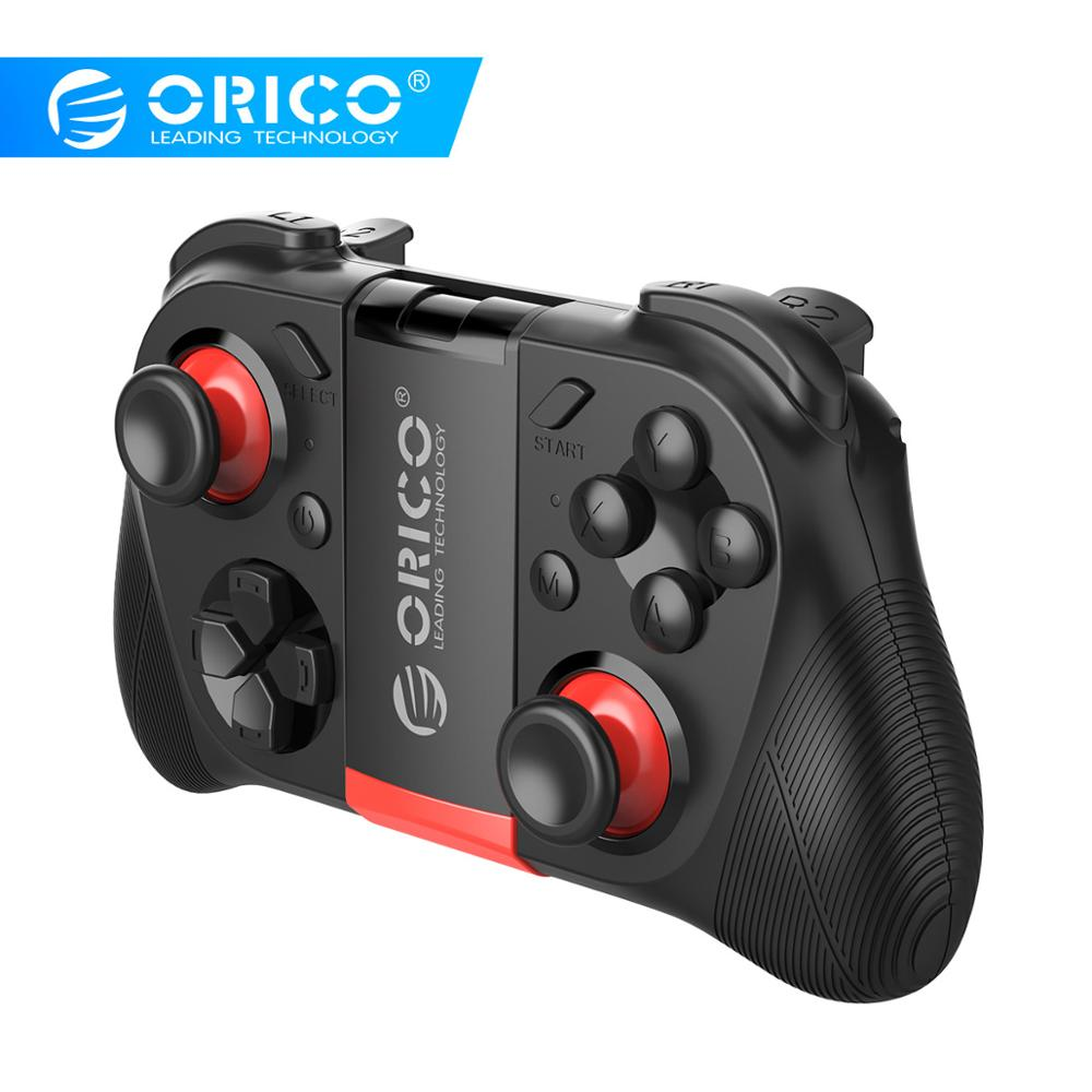 ORICO Wireless Bluetooth Gamepad For Mobile Phone Game Controller Joystick For PS3 Smartphone Tablet TV Box Gamepads