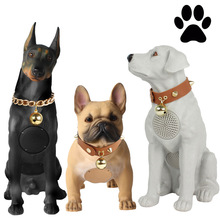 Big size Full Body Dog Head Bluetooth Speaker Labrador Poodle Wireless Dog Card Bulldog Audio Subwoofer Speakers