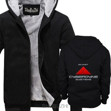 Skynet Cyberdyne Systems thick hoodies long sleeve hoodie Funny Top jacket shubuzhi winter Style thick jacket sbz4209
