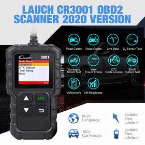 Image 3 - LAUNCH X431 CR3001 OBD2 Scanner Support Full OBD II/EOBD Launch Creader 3001 Auto Scanner diagnostic PK CR319 ELM327 V1.5 v2.1
