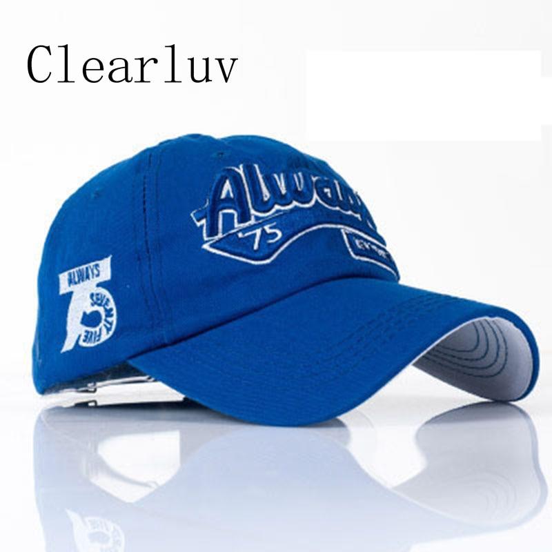 100% Cotton Baseball Cap Women Casual Snapback Hat High Quality Baseball Cap Gorras Hombre Embroidery For Men&women