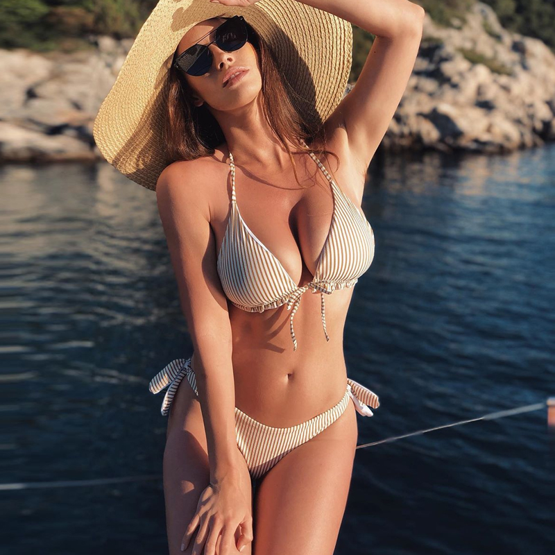 High Waist Bikini Set Swimwear Women Sexy Bikini 2020 New Push Up Swimsuit Beach Wear Bathing Brazilian Biquini Two Piece Suits