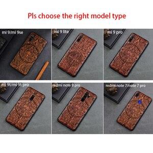 Image 5 - טלפון מקרה עבור Xiaomi Mi 9 לייט Mi 9T Mi 10 פרו מקורי Boogic עץ מקרה עבור Xiaomi Redmi הערה 7 הערה 8 פרו טלפון אבזרים