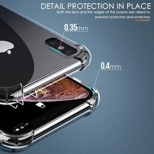 Image 5 - Силиконовый чехол для iPhone 7 8 6 6S Plus 7 Plus 8 Plus XS Max XR 11