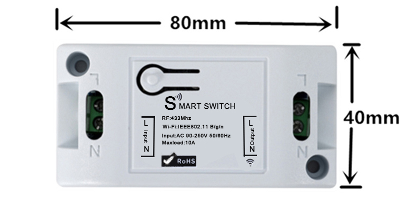Hf4a30455d87a46bd86ee44525a19d2d7A - QIACHIP WiFi Smart Switch Wireless Remote Control Light Timer Relay Switches AC 110V 220V Home Automation Work With Amazon Alexa