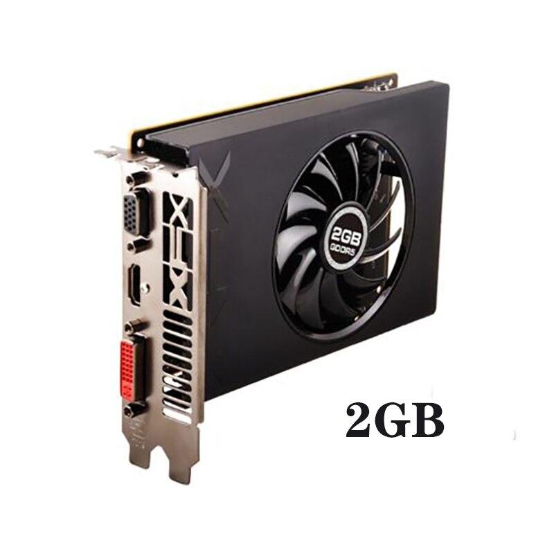 Б/у SAPPHIRE Radeon R7 240 2 Гб видеокарты GPU для AMD Radeon R7 240 GDDR3 128bit видеокарты экран настольный компьютер-2