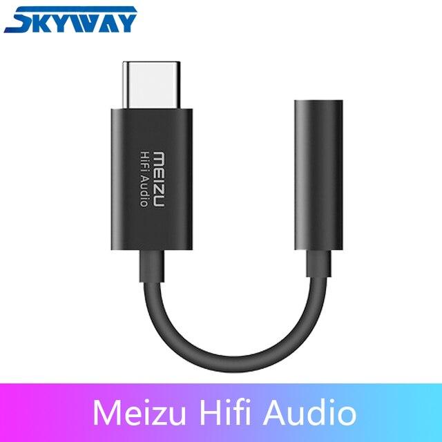 Meizu HiFi DAC wzmacniacz słuchawkowy type c do 3.5mm adapter audio Cirrus Logic CS43131 Chip 600ou PCM 32bit/384k DSD 128