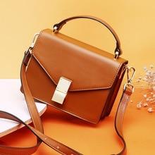 Fashion Flap Handbag Genuine Cow Leather Luxury Handbags Women Bags Designer Crossbody Bags for Women Shoulder Bag sac a main cумка daiwa ob flap bag a olive 7042