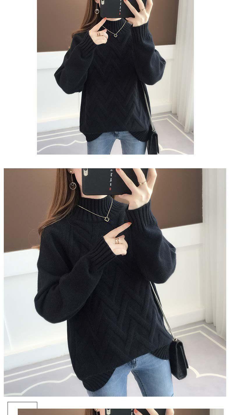Turtleneck Warm Women Sweater