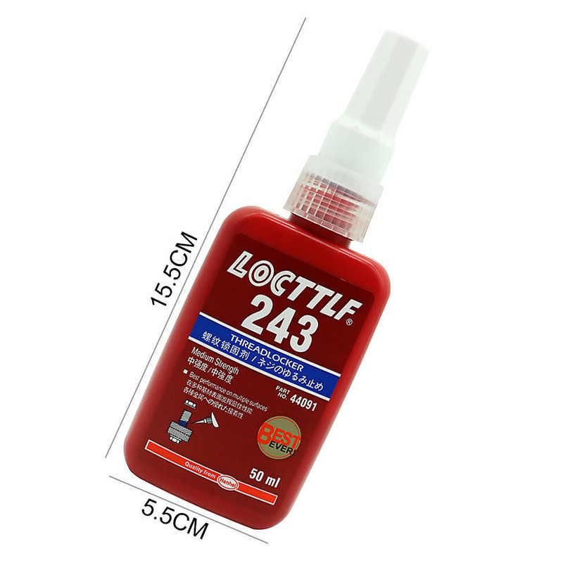 Novedad, superventas, 1 Uds. 243, sellador de rosca de resistencia media, pegamento adhesivo anaeróbico SMD66